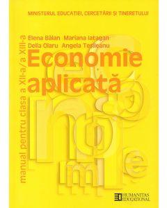 Economie aplicata. Manual pentru clasa a XII-a si a XIII-a.