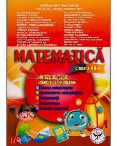 Matematica clasa a VII-a. Sinteze de teorie. Exercitii si probleme. Fixarea cunostiintelor. Aprofundare. Performanta. Autoevaluare. Evaluare