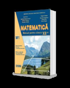 Matematica. Manual M1 pentru clasa a XII-a