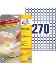 Etichete repozitionabile Avery-Zweckform L4730-25
