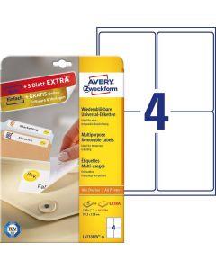 Etichete repozitionabile Avery-Zweckform L4733-25