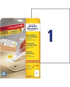 Etichete repozitionabile Avery-Zweckform L4735-25