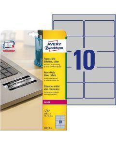 Etichete metalice de identificare Avery-Zweckform L6012-20
