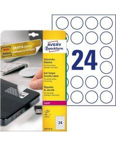 Etichete pentru sigilii Avery-Zweckform L6112-20