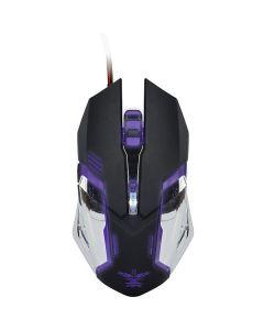 Xzero Mouse gaming X-M372KC 3200DPI negru/gri