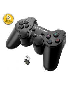 Esperanza Gamepad Gladiator 2.4Ghz PS3/PC USB negru
