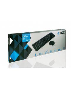 iBox Kit tastatura + mouse Office kit 2