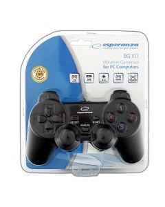 Esperanza Gamepad cu vibratii