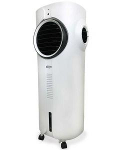 Racitor si purificator de aer mobil cu ioni negativi ARGO POLIFEMO TEDDY ,Interior si Exterior, Umiditate reglabila, Ventilatie, Racire, Display cu LED, Telecomanda, Timer, Rezervor 7 l
