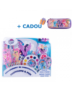 Set 1000 de piese My Little Pony + Cadou Penar 3D My Little Pony