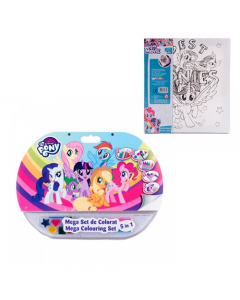 Setul de colorat 5in1 My Little Pony + Panza pictura My Little Pony