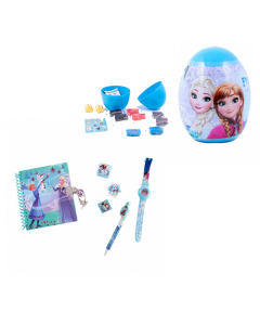 Set cadou Frozen + Ou magic cu plastilina si unelte (L) Frozen