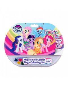 Mega set de colorat 5in1 My Little Pony - MPO1907