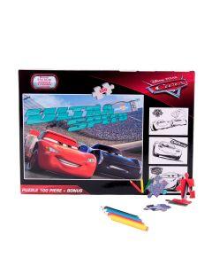 Puzzle 100 piese + Bonus Cars - DCA-XP01
