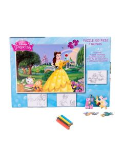 Puzzle 100 piese + Bonus Princess - PCS-XP01