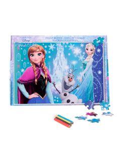 Puzzle 160 piese + Bonus Frozen - FZN-XP09 Happyschool