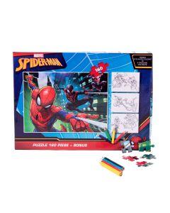 Puzzle 160 piese + Bonus Spider-Man - SPR-XP09