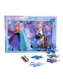 Puzzle 24 piese + Bonus Frozen - FZN-XP05