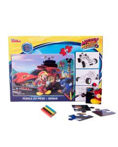 Puzzle 24 piese + Bonus Mickey - MYM-XP05