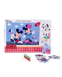 Puzzle 24 piese + Bonus Minnie - MIE-XP05