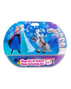 Mega set de colorat 5in1 Frozen - FZN1907