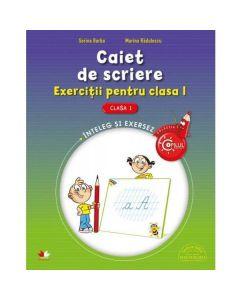 Caiet de scriere cls 1 exercitii - Sorina Barbu, Marina Radulescu