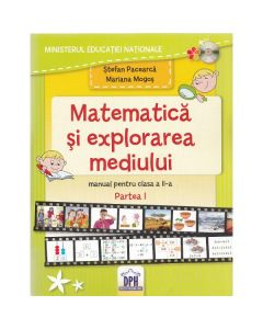 Matematica si explorarea mediului - Clasa a 2-a. Partea 1 - Manual - Stefan Pacearca, Mariana Mogos