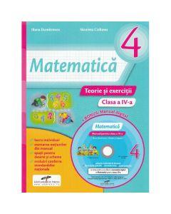 Matematica - Clasa a 4-a - Teorie si exercitii + CD - Iliana Dumitrescu, Nicoleta Ciobanu