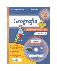 Geografie - Clasa a 4-a - Caiet multifunctional + CD - Marius-Cristian Neacsu, Veronica Reh