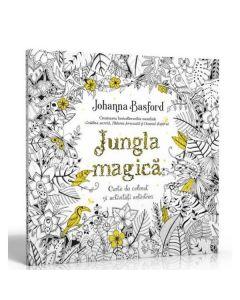 Jungla magica. Carte de colorat si activitati antistres - Johanna Basford