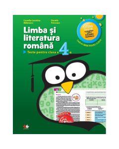 Romana - Clasa a 4-a - Teste - Camelia-Leontina Balanescu, Daniela Potocean