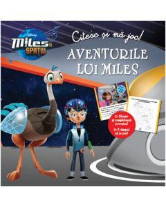 Citesc si ma joc: Aventurile lui Miles - Miles in spatiu