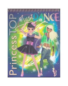 Princess Top - Just Dance (bleu)