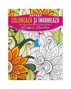 Coloreaza si inrameaza: Lumea florilor