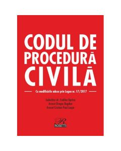 Codul de procedura civila ed.2017 - Evelina Oprina
