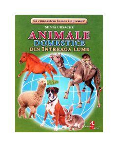Animale domestice din intreaga lume - Cartonase - Silvia Ursache