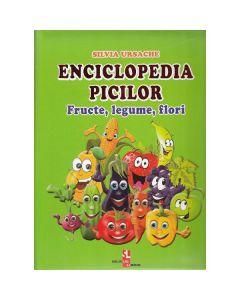 Enciclopedia picilor: Fructe, legume, flori - Silvia Ursache