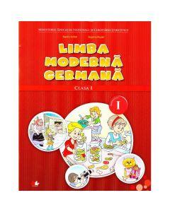 Limba moderna germana clasa 1 Sem.1 + CD - Naomi Achim, Eugenia Rosian