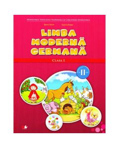 Limba moderna germana clasa 1 sem. 2 + CD - Naomi Achim, Eugenia Rosian