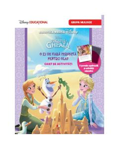 Disney Regatul de gheata - O zi de vara perfecta pentru Olaf - Caiet de activitati. Grupa mijlocie