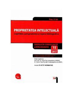 Proprietatea intelectuala act. 15 octombrie 2017