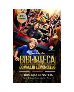 Evadare din biblioteca domnului Lemoncello (coperta film) - Chris Grabenstein