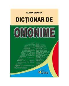 Dictionar de omonime - Elena Cracea