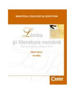 Limba romana - Clasa 11 - Manual - Marin Iancu, Ion Balu