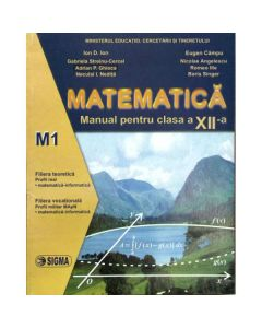 Matematica Cls 12 M1 - Ion D. Ion, Eugen Campu