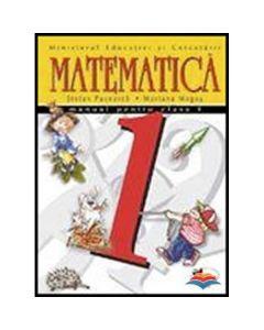 Matematica manual pentru clasa 1 - Stefan Pacearca, Mariana Mogos