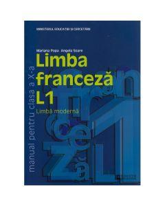 Franceza Cls 10 L1 Ed.2011 - Mariana Popa, Angela Soare