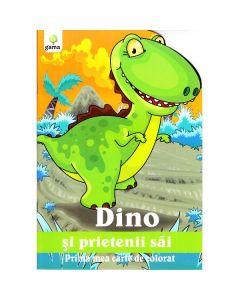 Dino si prietenii sai - Prima mea carte de colorat