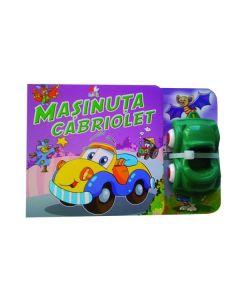 Masinuta cabriolet - Carte cu jucarie