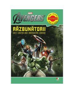 Marvel - Razbunatorii. Uniti contra unei amentintari comune - Jocuri, activitati, pagini de colorat
